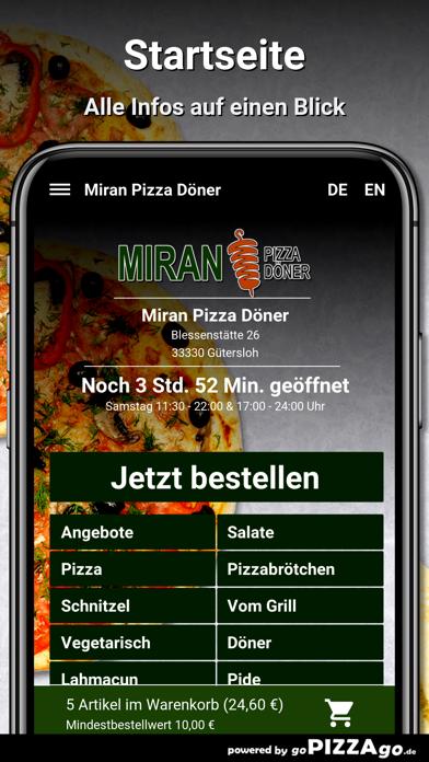 Miran Pizza Döner Gütersloh screenshot 3