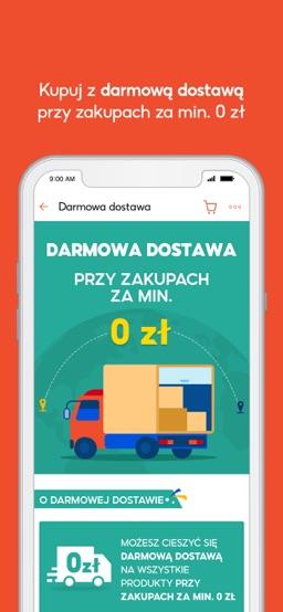 Shopee PL: bez kosztów dostawy app screenshot