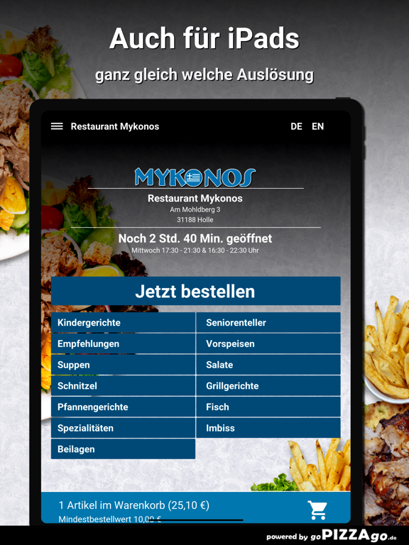 Restaurant Mykonos Holle screenshot 7