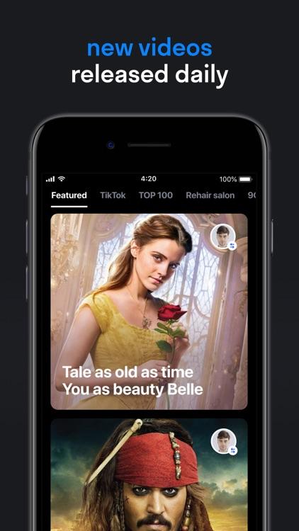 Reface: Face Swap Videos screenshot-3