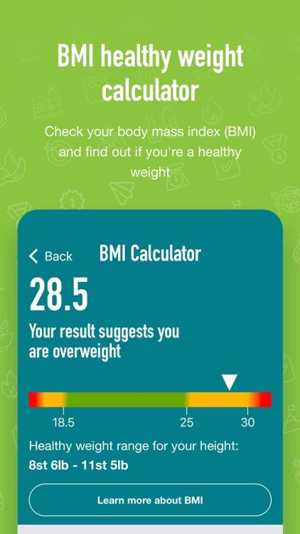 NHS Weight Loss Plan screenshot-4