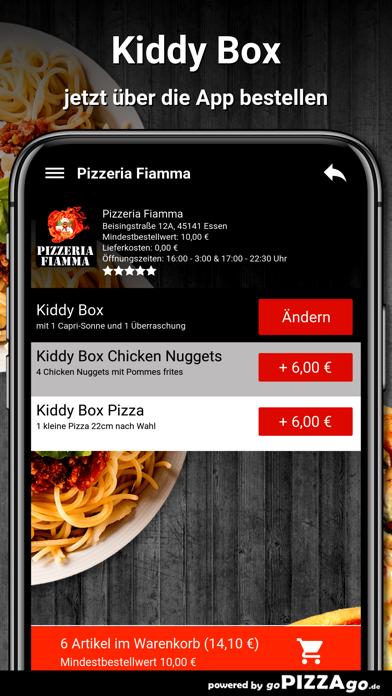 Pizzeria Fiamma Essen screenshot 5