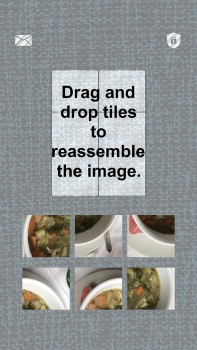 Food: Tiling Puzzles screenshot 1