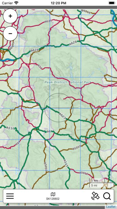 Peak District Map Pro screenshot 1