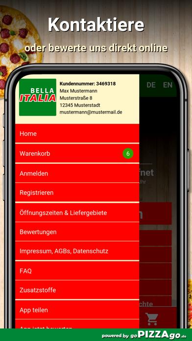 Bella Italia Schwabach screenshot 4