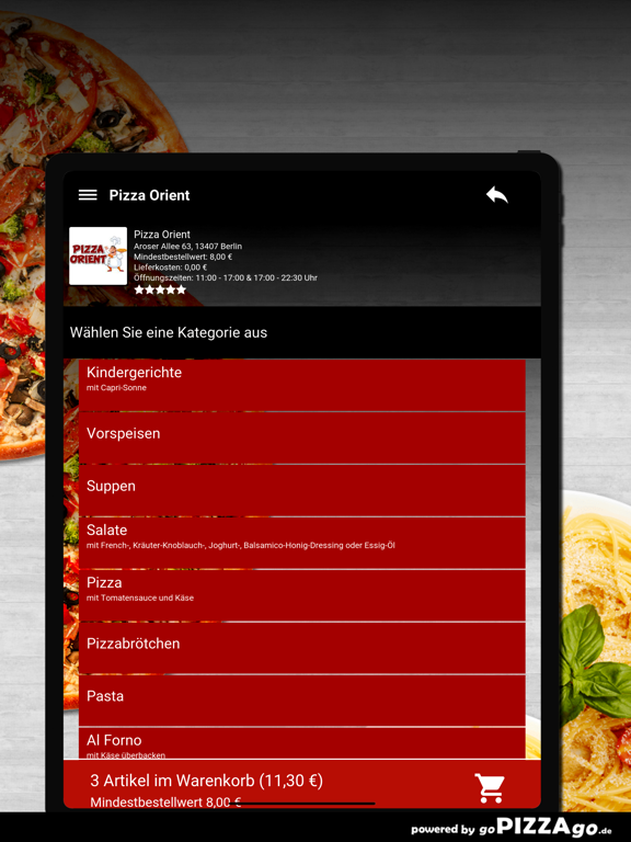 Pizza Orient Berlin screenshot 8