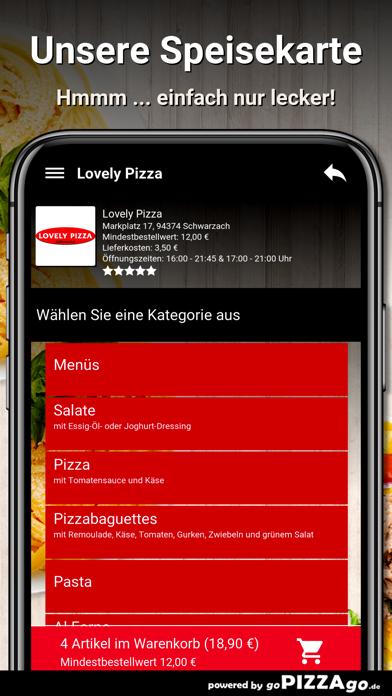 Lovely Pizza Schwarzach screenshot 4