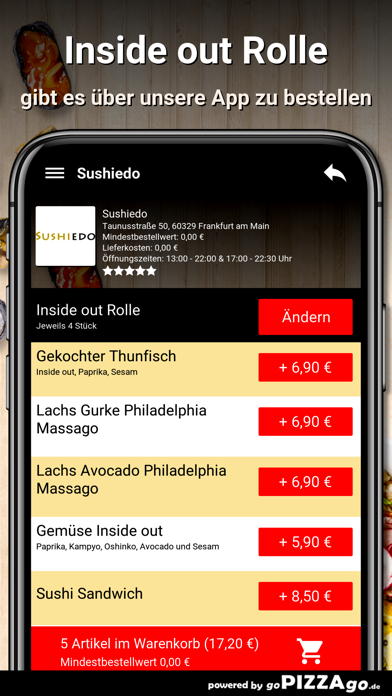 Sushiedo Frankfurt am Main screenshot 6