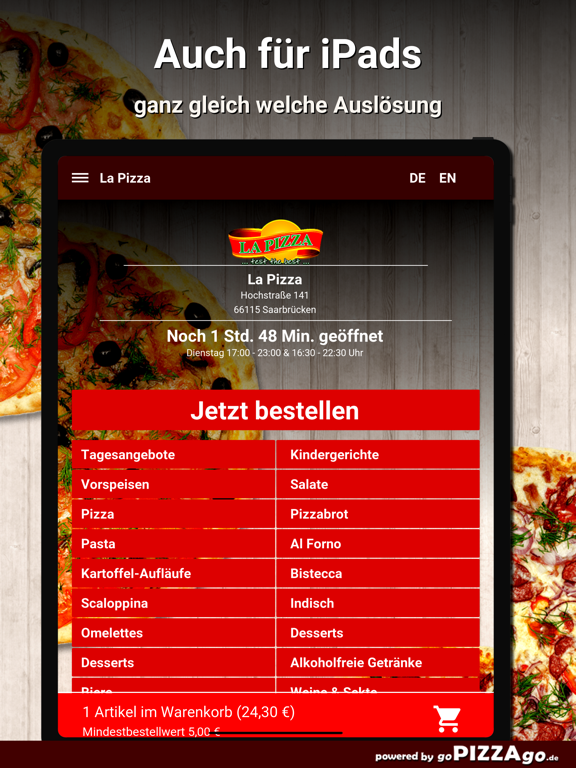La Pizza Saarbrücken screenshot 7