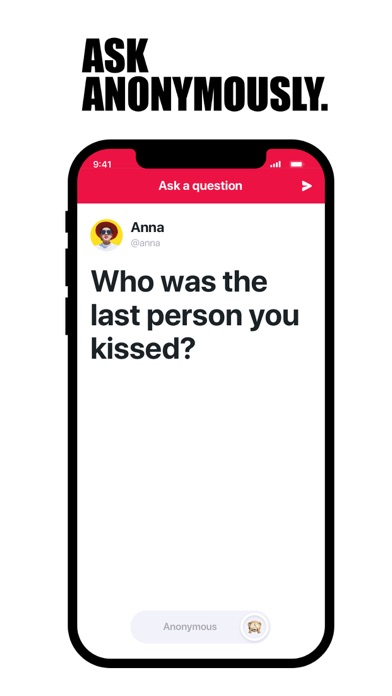 ASKfm: Ask Anonym Questions ScreenShot1