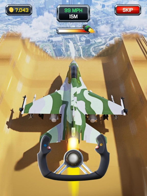 Crazy Plane Landing screenshot 8