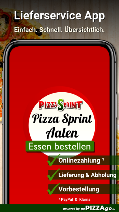 Pizza Sprint Aalen screenshot 1