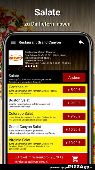 Restaurant Grand Canyon Halle screenshot 5