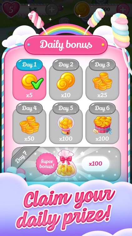 Megan's Cute Candy Celebration screenshot-3