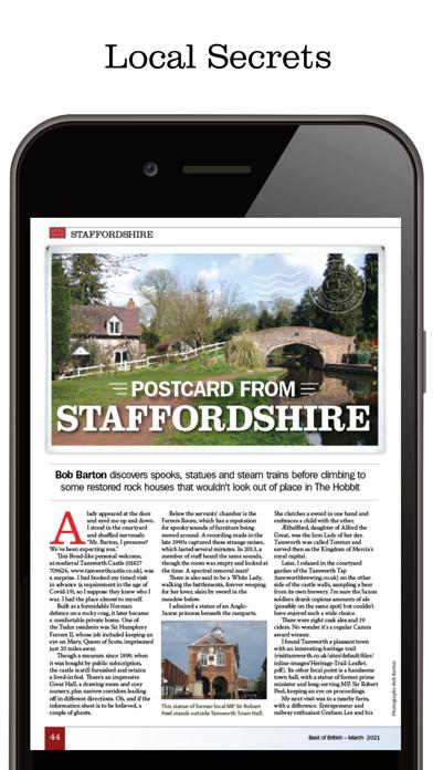 Best of British Magazine AppScreenshot of 3
