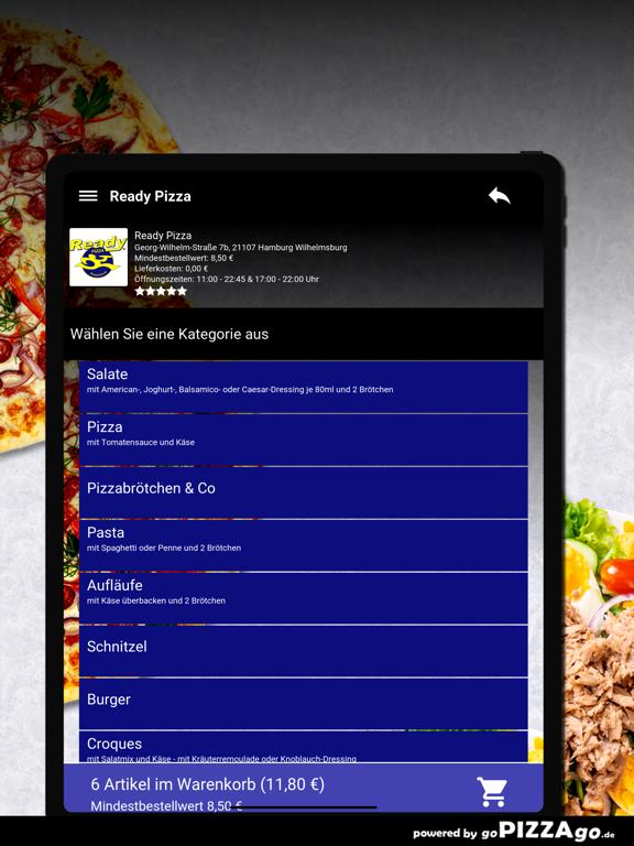 Ready Pizza Hamburg screenshot 8
