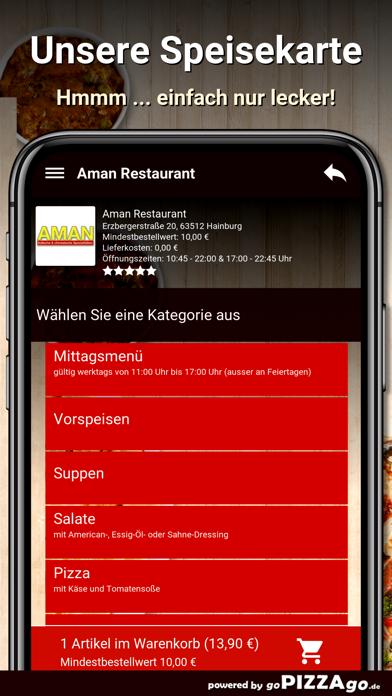 Aman Restaurant Hainburg screenshot 6
