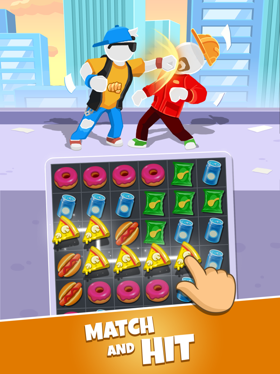 Match Hit - Puzzle Fighter screenshot 8