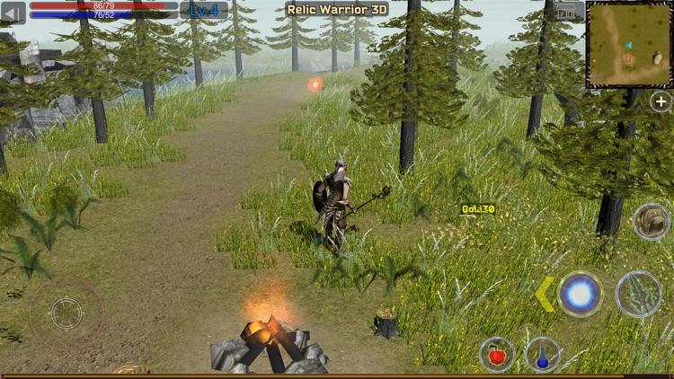 Relic Warrior 3D