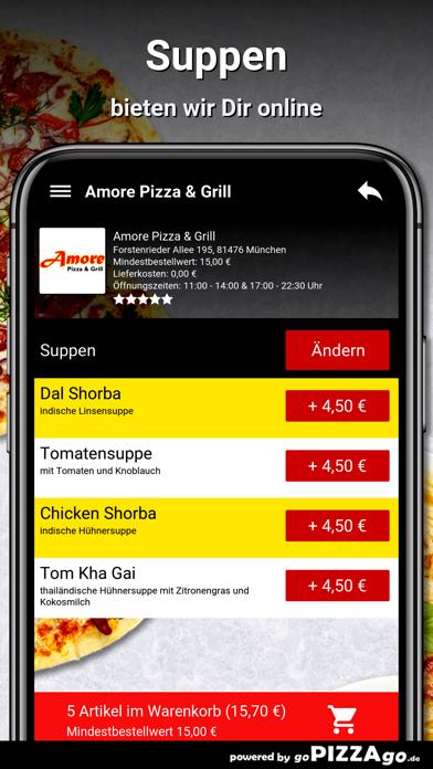 Amore Pizza & Grill München screenshot 5