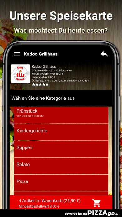 Kadoo Grillhaus Pforzheim screenshot 4