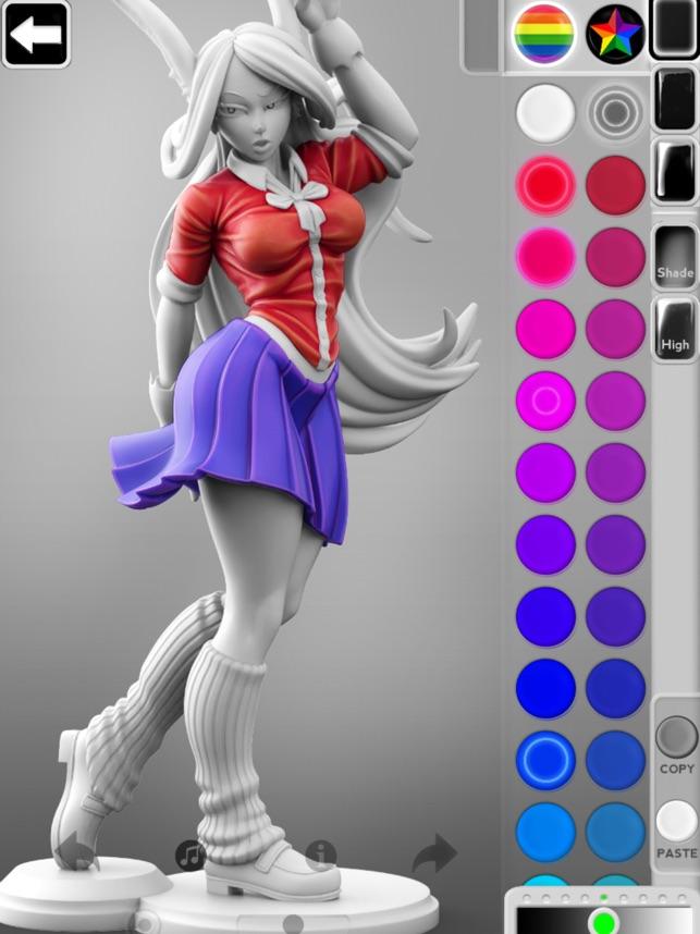 ColorMinis - Nghệ thuật 3D màu
