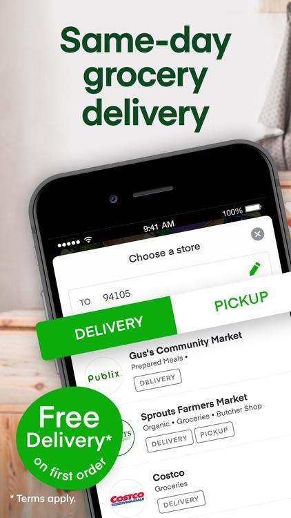 Instacart: Grocery deliveries screenshot-0