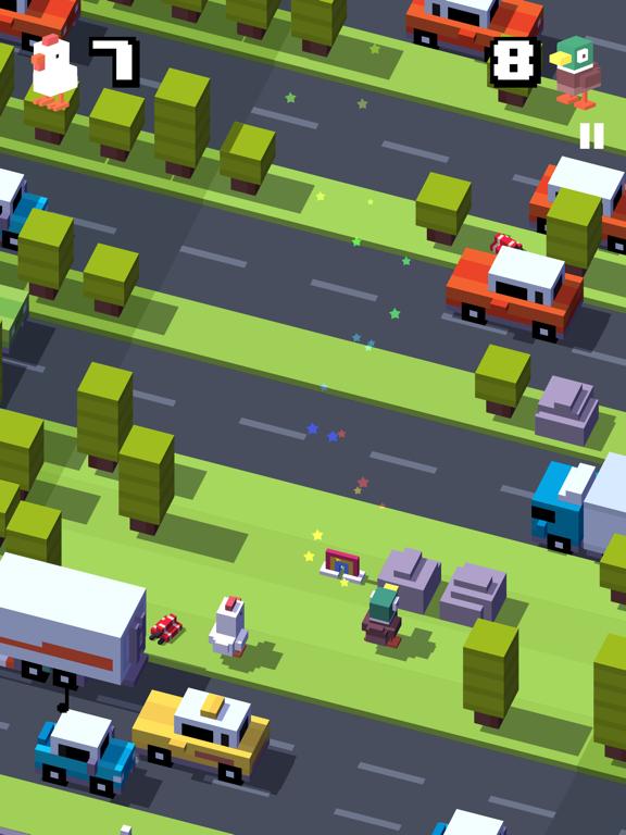Crossy Road iPad app afbeelding 5