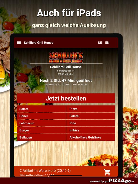 Schillers Grill House München screenshot 7