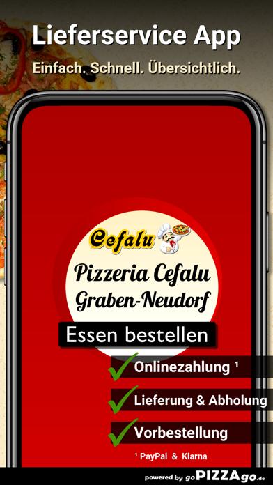 Pizzeria Cefalu Graben-Neudorf screenshot 1