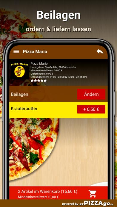 Pizza Mario Iserlohn screenshot 6