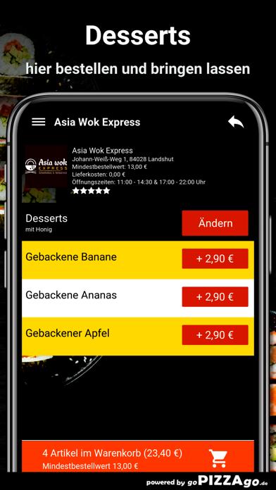 Asia Wok Express Landshut screenshot 6
