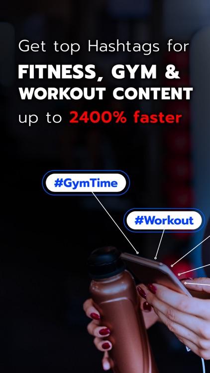 Fitness Hashtags App screenshot-0