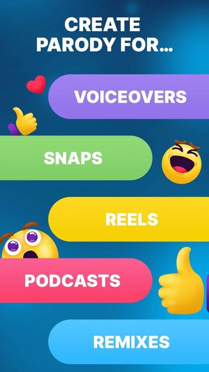 Celebrity Voice Changer Parody screenshot-5