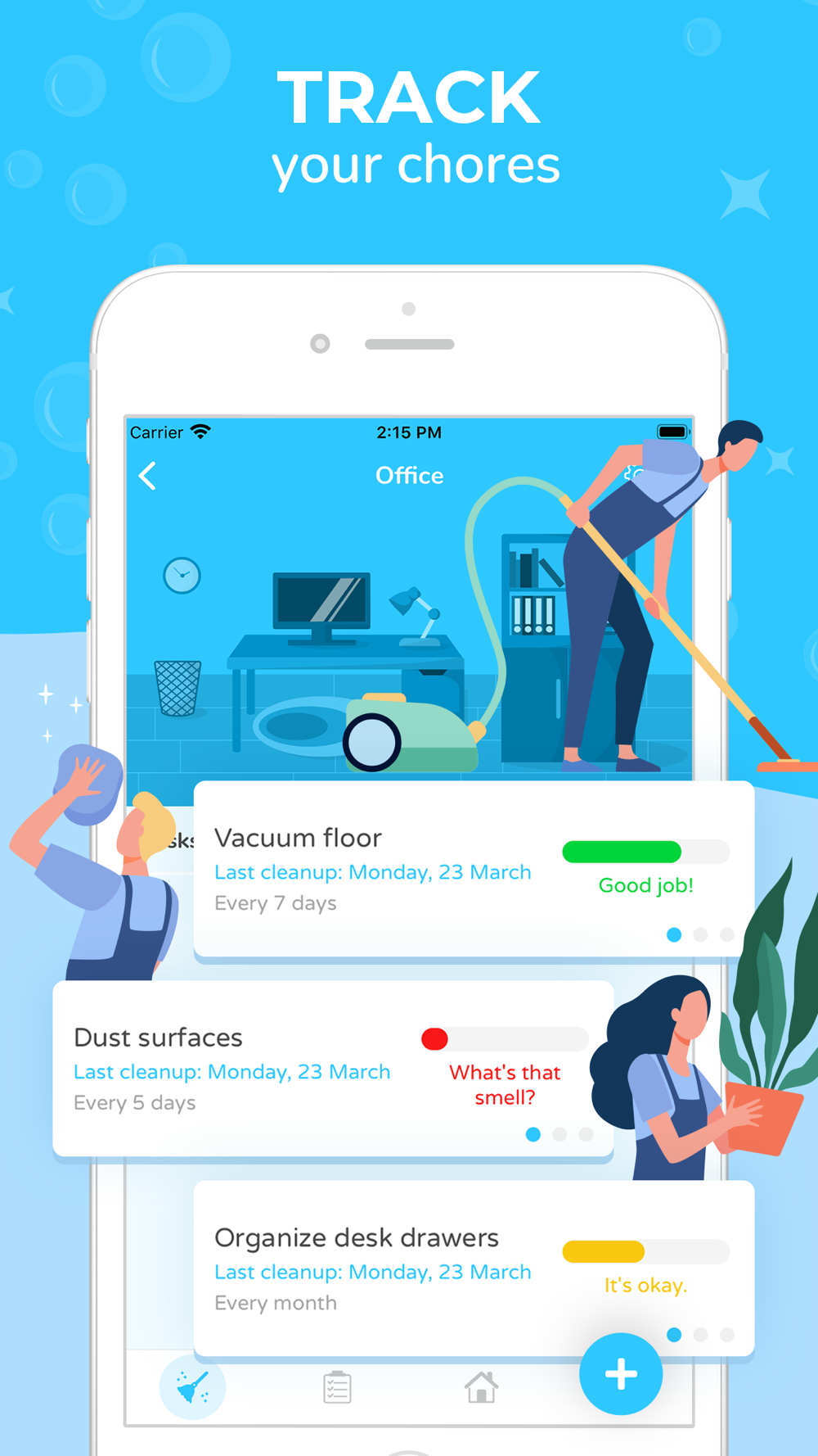 Sweepy Home Cleaning Schedule Free Download App for iPhone ...