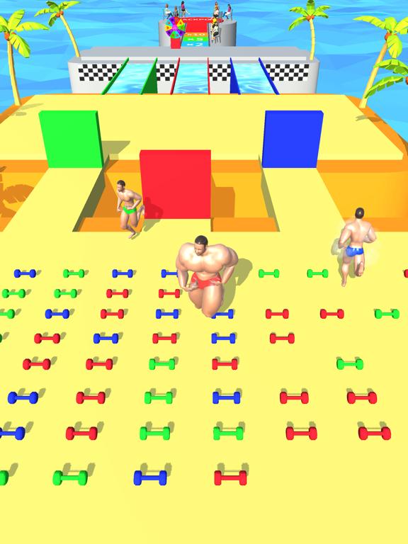 ひまつぶしげーむ-マッチョレースのおすすめ画像1