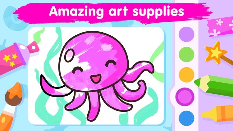 Kids coloring games for 3-5 screenshot-3