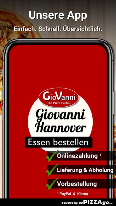 Giovanni Bringdienst Hannover screenshot 1