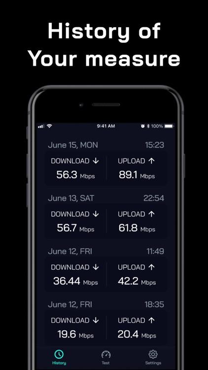 Internet Speed Test & Wi-Fi screenshot-3