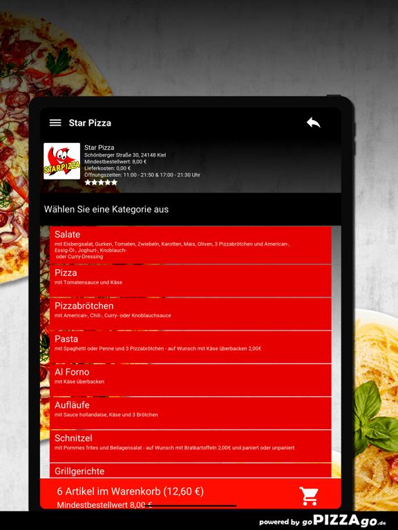 Star Pizza Kiel screenshot 8