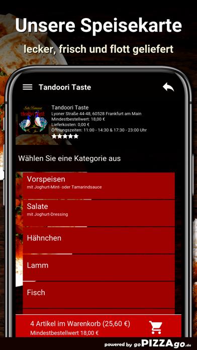 Tandoori Taste Frankfurt screenshot 4