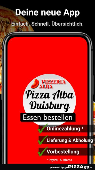Pizza Alba Duisburg Neuenkamp screenshot 1