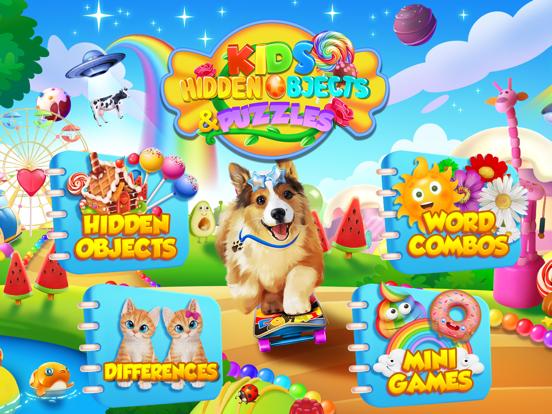 Kids Hidden Objects & Puzzles screenshot 11