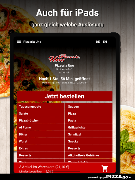 Pizzeria Uno Köln screenshot 7