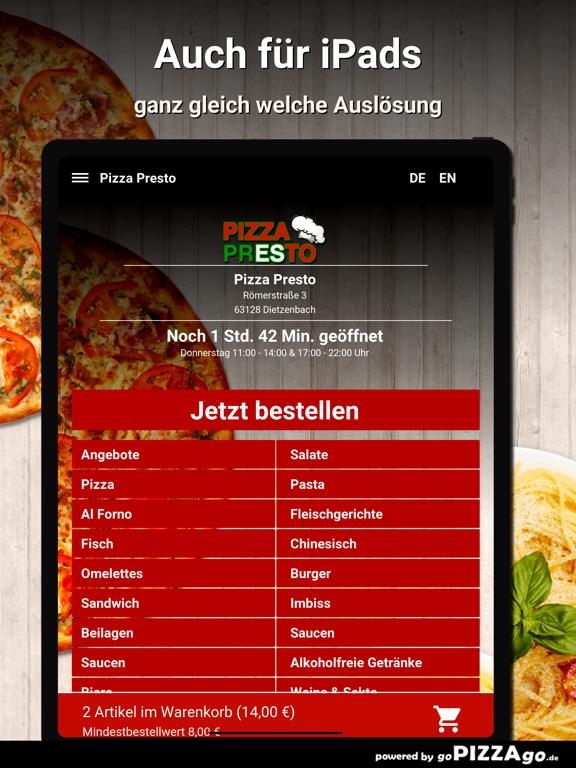 Pizza Presto Dietzenbach screenshot 7