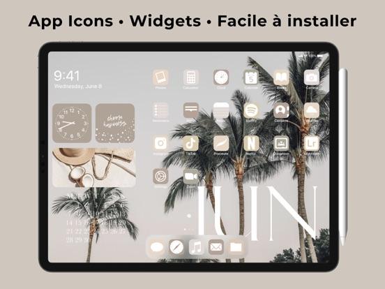 ScreenKit Widget fonds d'écran