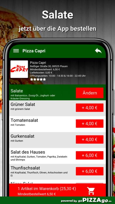 Pizza Capri Plauen screenshot 5