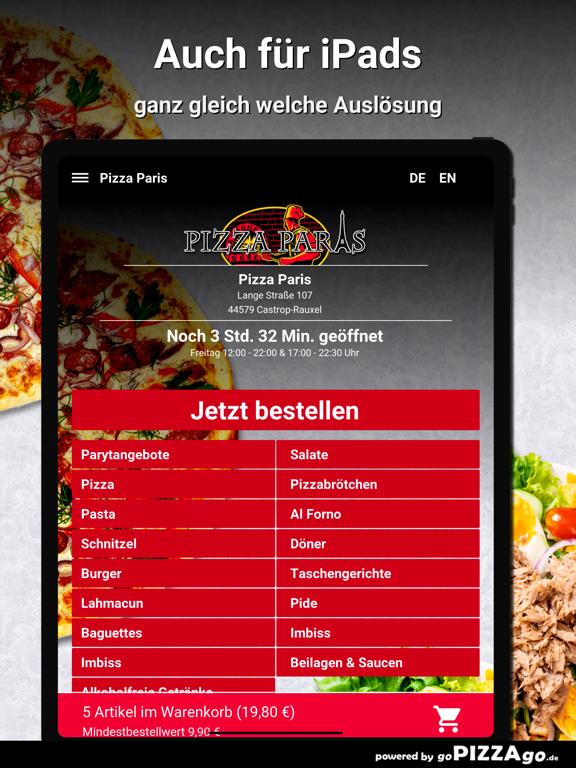 Pizza Paris Castrop-Rauxel screenshot 7