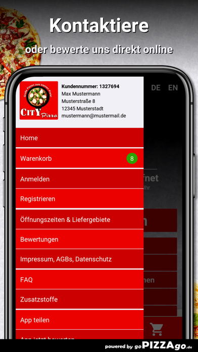 City Pan Pizza Recklinghausen screenshot 3