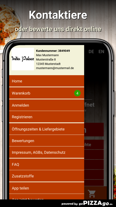India Palace Berlin Friedenau screenshot 3